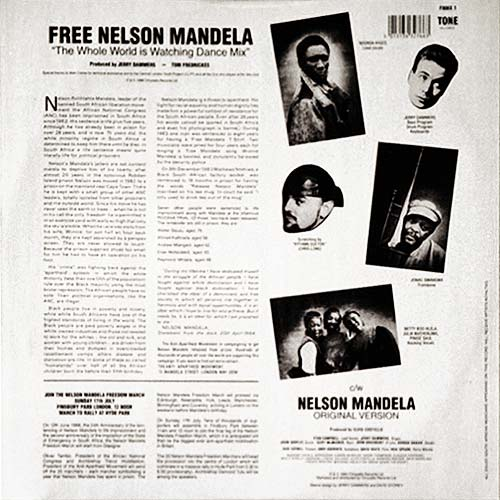 Free <a href='/display/?rank260'>Nelson Mandela</a> (70th Birthday Remake)